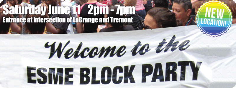 ESME Women's Block Party June 11 2pm - 7pm