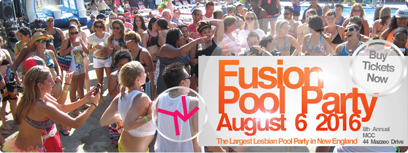 Fusion 2016 Womens Pool Party - Saturday August 6 in Randolph MA