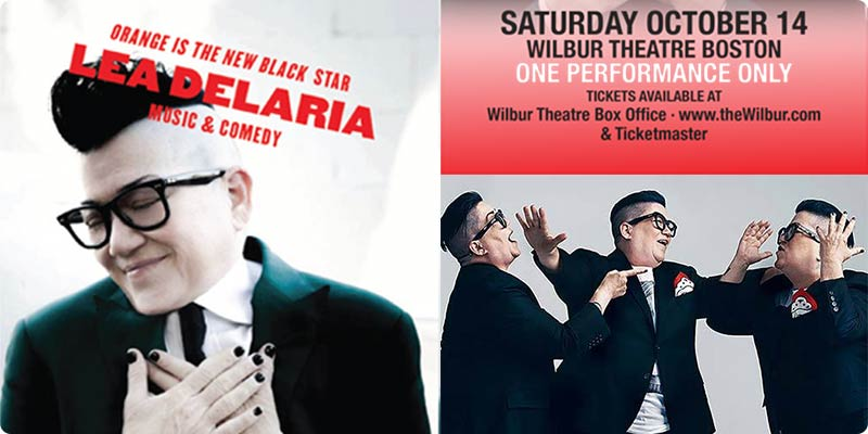 Lea Delaria at the Wilber Sat Oct 14 - Tickets on Sale Now!