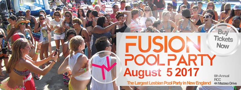 Fusion 2017 Women's Pool Party August 5 Tickets on Sale Now!