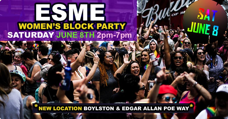 ESME Women's Block Party 2019 - Saturday June 9th