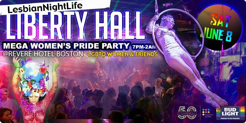 Women's Pride Party @ Liberty Hall Saturday June 8th