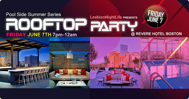 Rooftop Takeover by The Women's Rebellion - Friday June 7th