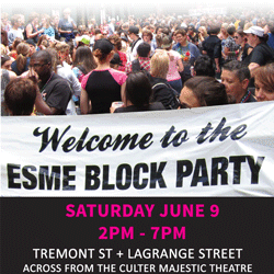 2018 ESME Womens Block Party and Boston Pride - June 9 2018